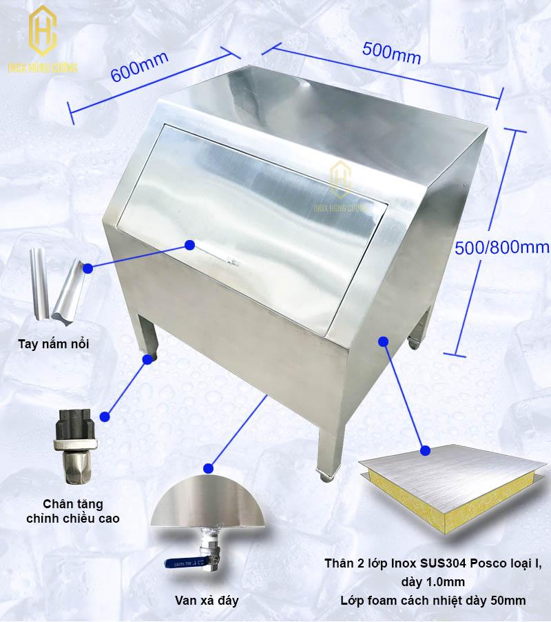Tủ đựng nước đá