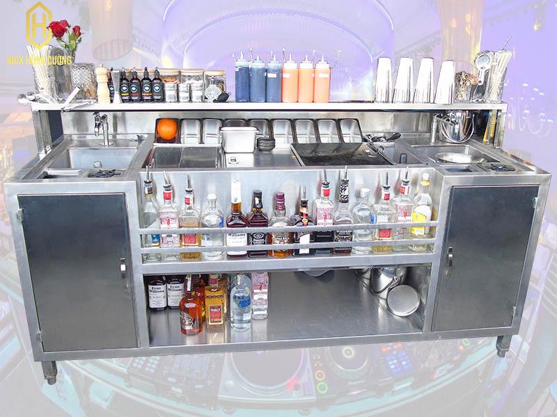 Giá quầy bar inox