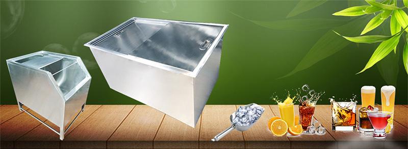 Sử dụng thùng đá inox bảo quản đá viên
